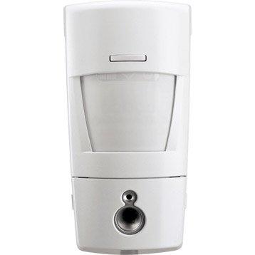 Détecteur de mouvement à transmission d'images pour alarme maison DIAGRAL blanc