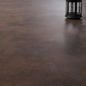 Dalle PVC adhésive ARTENS Stone cuivre, 60.96 x 30.48 cm