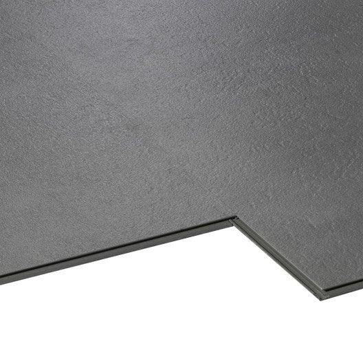 Dalle PVC clic AERO City, gris, 60.72 x 30.31 cm