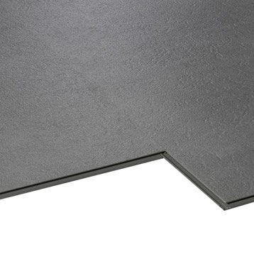 Dalle PVC clipsable gris deep grey Aero city AERO