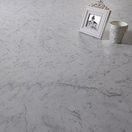 Dalle PVC adhésive AERO marble, 30.48 x 30.48 cm