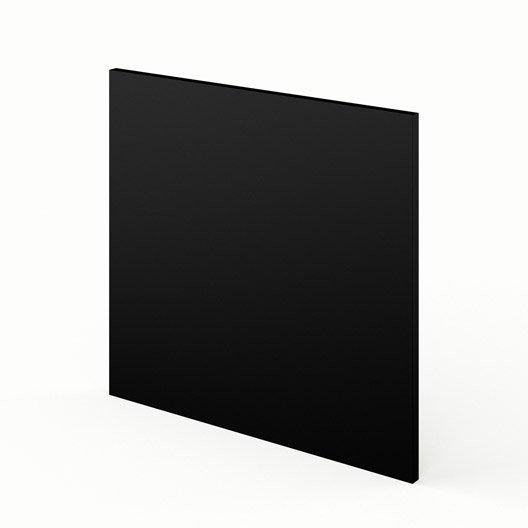 Porte Lave-Vaisselle De Cuisine Noir Mat Edition, L.60 X H.55 Cm