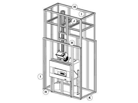 Comment monter une cloison multifonctions pour un insert for Construire un conduit de cheminee
