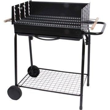 Barbecue au charbon de bois Teide, noir