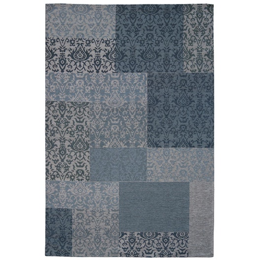 tapis bleu antika x cm leroy merlin. Black Bedroom Furniture Sets. Home Design Ideas