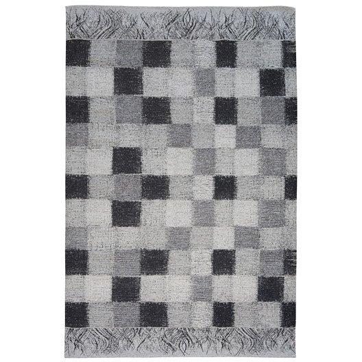 tapis noir antika x cm leroy merlin. Black Bedroom Furniture Sets. Home Design Ideas