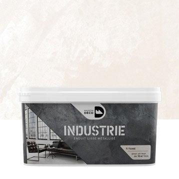 Peinture à effet, Industrie MAISON DECO, titane, 4 kg