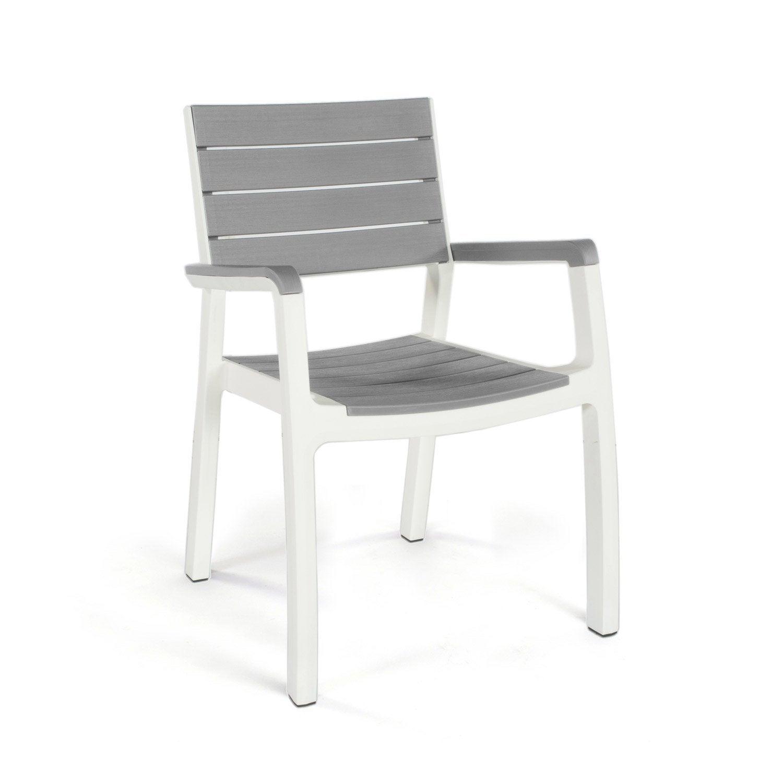 Emejing chaise de jardin keter contemporary design for Fauteuil de jardin resine tressee gris
