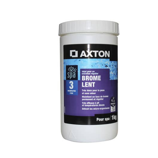 brome lent spa axton pastille 1 kg leroy merlin. Black Bedroom Furniture Sets. Home Design Ideas