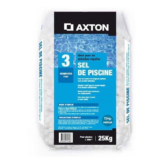 sel de piscine axton 25 kg leroy merlin. Black Bedroom Furniture Sets. Home Design Ideas