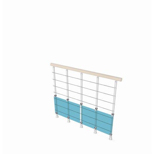 rambarde d 39 escalier garde corps protection palier escalier au meilleur prix leroy merlin. Black Bedroom Furniture Sets. Home Design Ideas