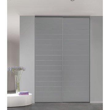 Porte de placard sur mesure leroy merlin - Castorama porte de placard ...