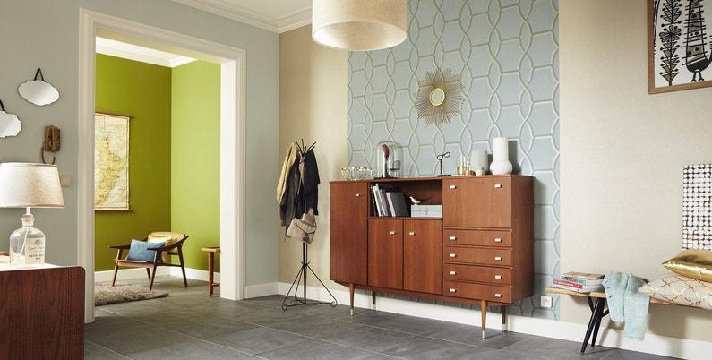 habiller une partie d 39 un mur pour un effet atypique dans la pi ce leroy merlin. Black Bedroom Furniture Sets. Home Design Ideas