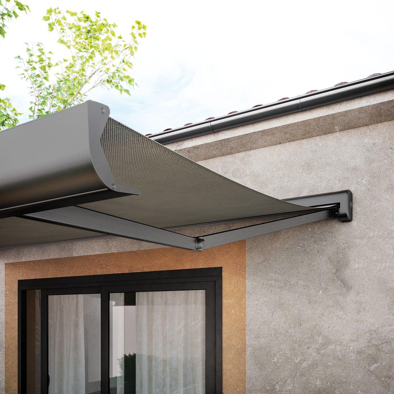 Store Banne Coffre Intégral Motorisé Somfy : store banne coffre intgral motoris somfy store banne ~ Melissatoandfro.com Idées de Décoration