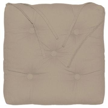 Galette de chaise coussin d 39 assise au meilleur prix leroy merlin - Galette de chaise avec scratch ...