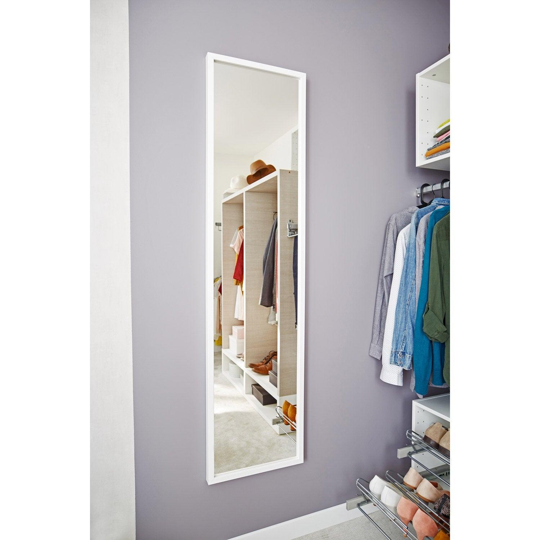 Miroir Basic blanc l 157 x H 37 cm