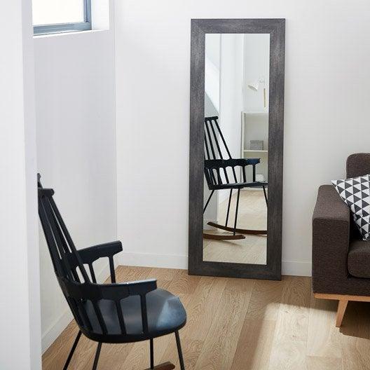 miroir design industriel miroir mural sur pied au. Black Bedroom Furniture Sets. Home Design Ideas