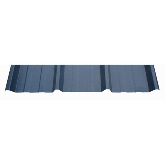 plaque r gul e nervur acier galvanis bleu ral 5008. Black Bedroom Furniture Sets. Home Design Ideas