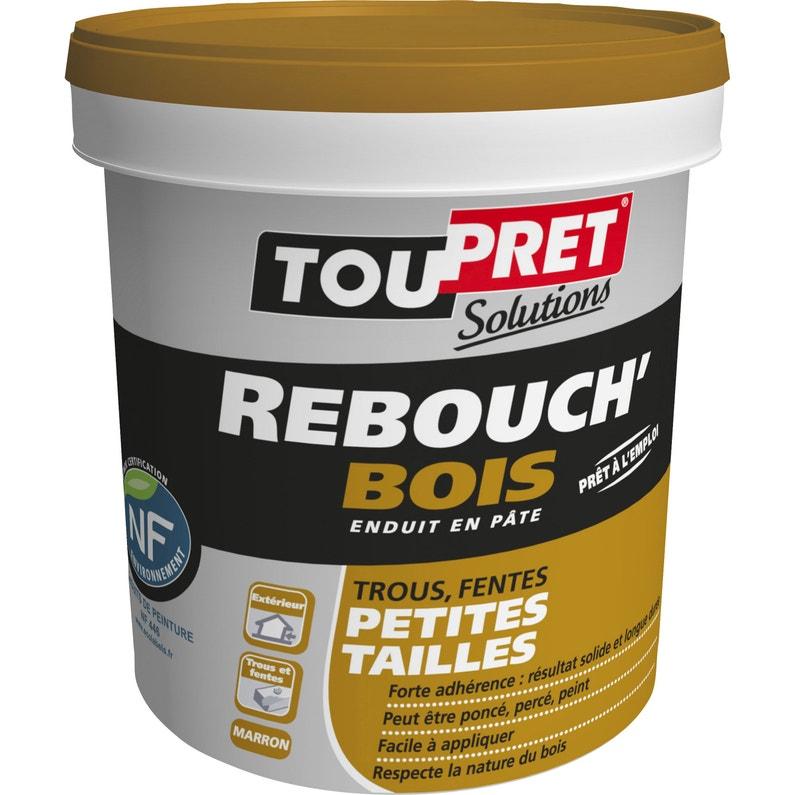 Enduit De Rebouchage Toupret Marron 1250 G