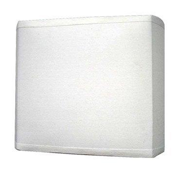 Applique campagne e27 Pavie tissu Blanc-Blanc n°0, 1 INSPIRE