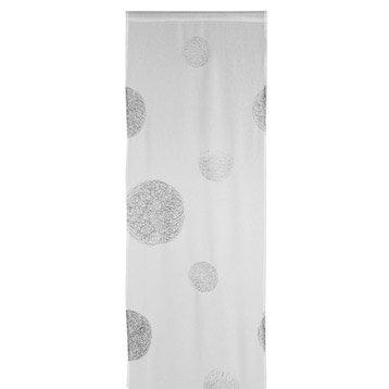 Panneau japonais 5 mondes, blanc, 260 x 50 cm