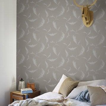 Papier peint papier peint frise et fibre de verre leroy merlin - Papier peint marron glace ...