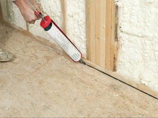 Isoler les sols béton à l'étage