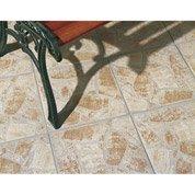 Carrelageextérieur Opus en grès cérame émaillé, beige, 35x35cm