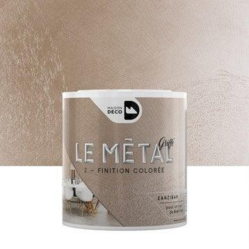Enduit décoratif, Le métal griffé MAISON DECO, zanzibar, 0.5 l
