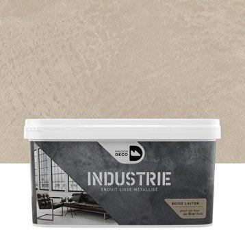 Peinture à effet, Industrie MAISON DECO, beige laiton, 4 kg