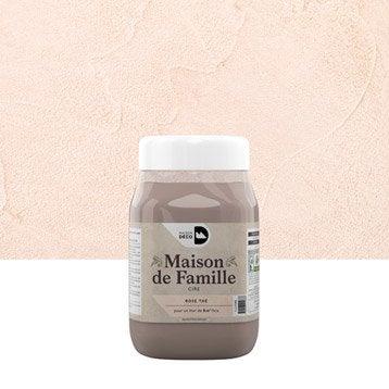 Peinture à effet, Maison de famille MAISON DECO, rose thé, 1 l