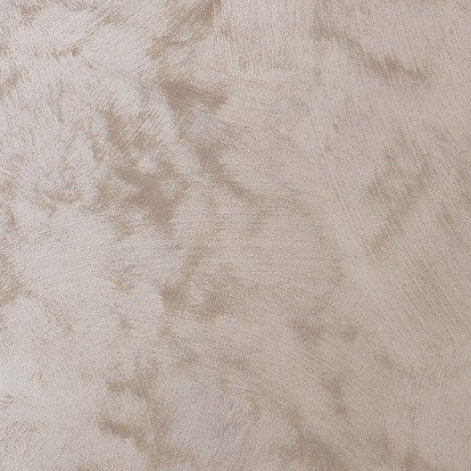 Peinture effet sable pr cieux luxens brun taupe 6 2 l for Peinture sable precieux luxens