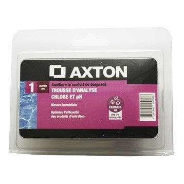 Trousse d'analyse pastille piscine AXTON, pastille