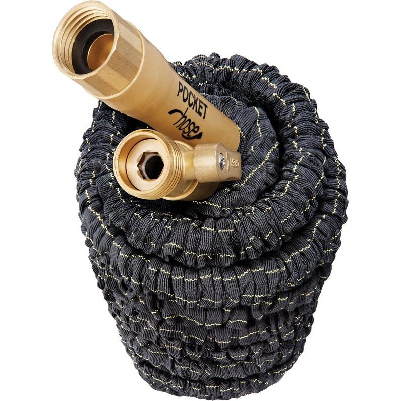 Tuyau Darrosage Avec Raccord Pocket Hose Pro 15m L15 M Diam15 Mm