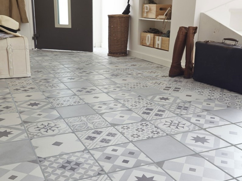 Carrelage parquet et sol souple leroy merlin for Carreaux sol interieur