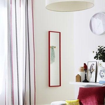 Miroir Lario INSPIRE, rouge, l.30 x H.120 cm