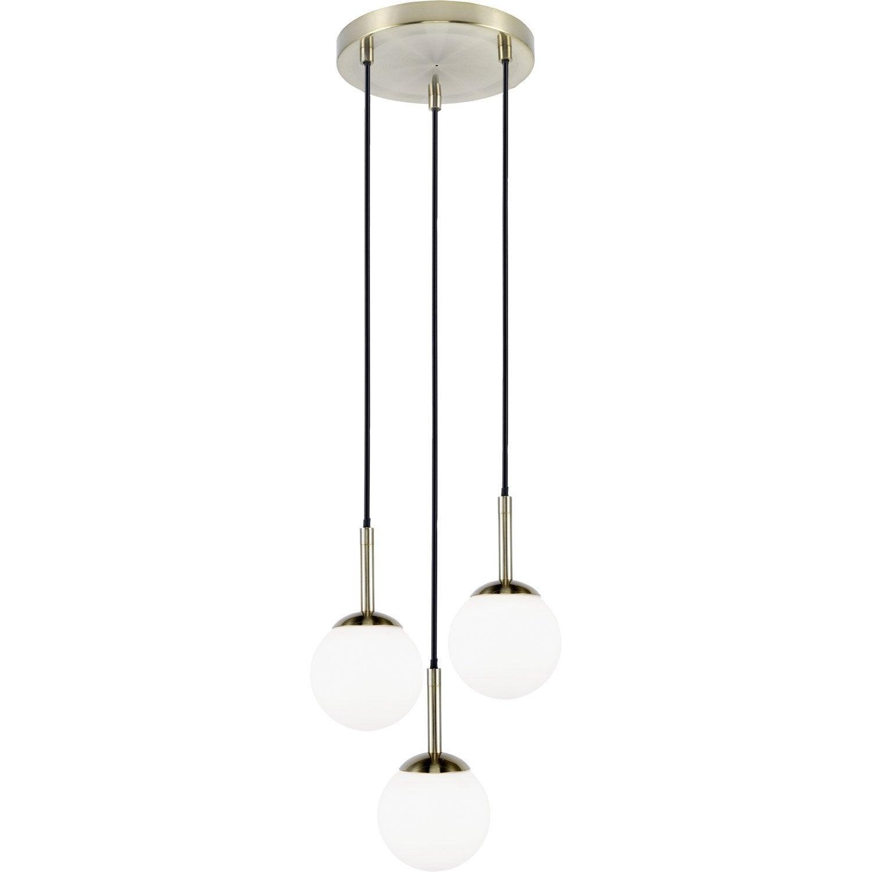Suspension Gitse, Sans ampoule 3 x max 33 W, G9
