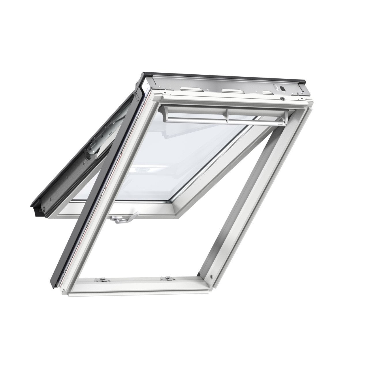 Velux 78 X 140 Confort Whitefinish Bois Blanc A Projection Gpl