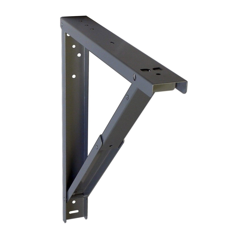Fabriquer Une Table Escamotable support pour table rabattable l.7 x l.44 cm