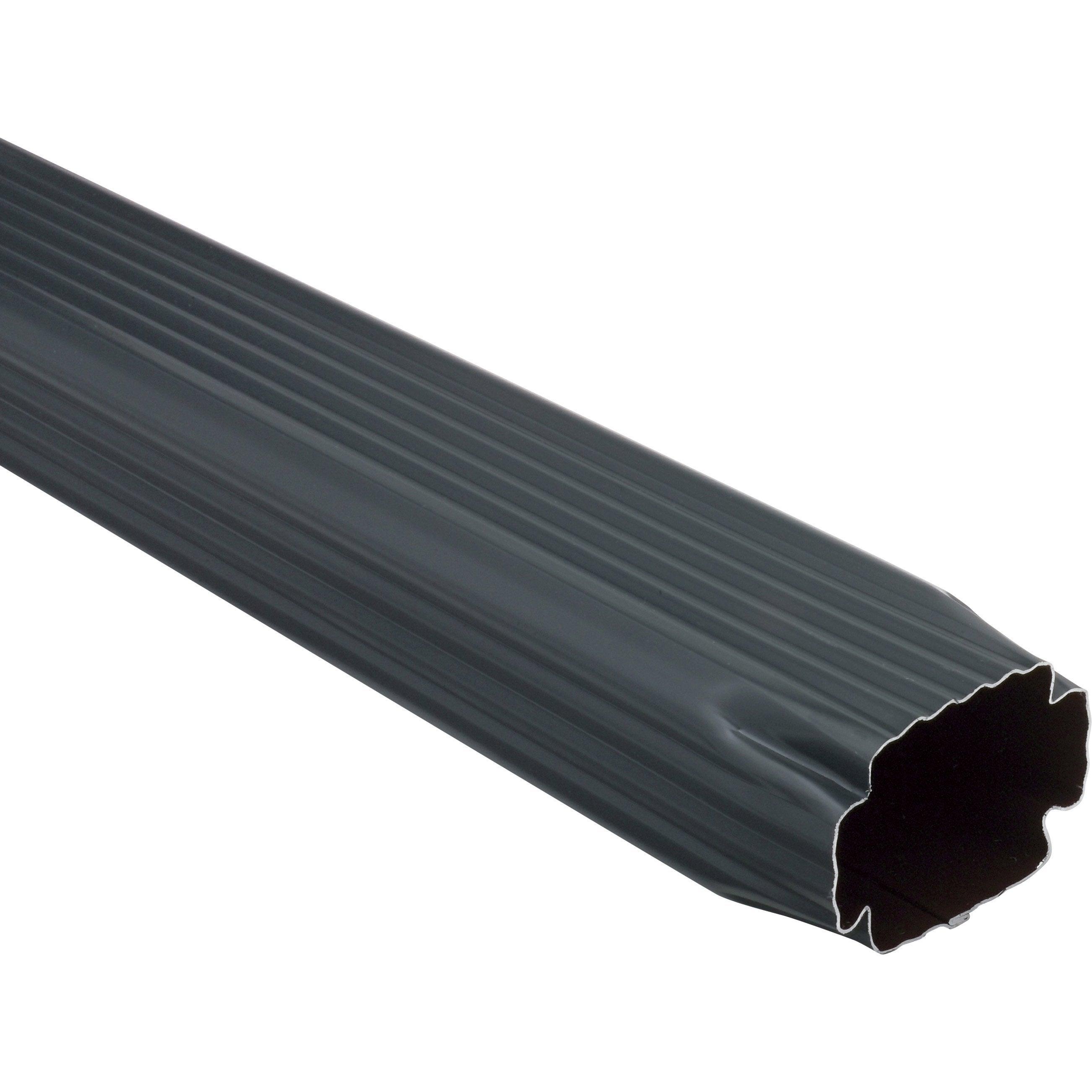 Tuyau De Descente Aluminium Ardoise L2 M Scover Plus
