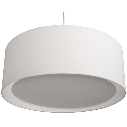 suspension design essentiel coton blanc blanc n 0 1 x 60 w. Black Bedroom Furniture Sets. Home Design Ideas
