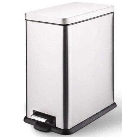 poubelle de cuisine poubelle tabouret et accessoires de cuisine leroy merlin. Black Bedroom Furniture Sets. Home Design Ideas