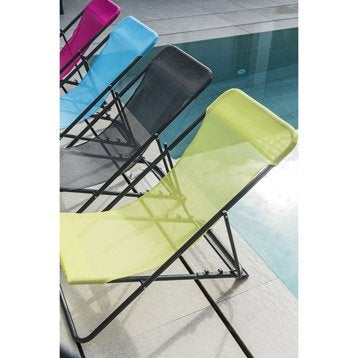 hamac transat et bain de soleil salon de jardin table et chaise leroy merlin. Black Bedroom Furniture Sets. Home Design Ideas