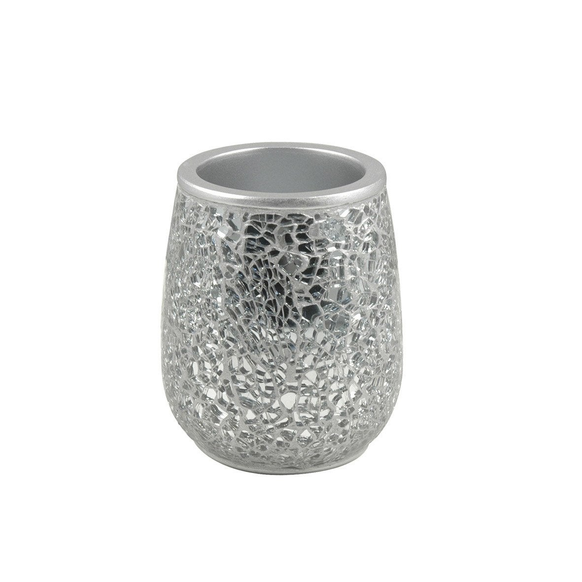 Gobelet polyrésine Glam, argent | Leroy Merlin