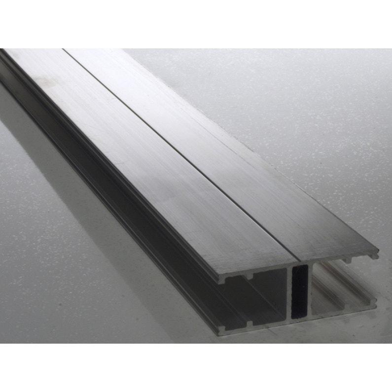 Profil Jonction Pour Plaque Ep 16 Mm Aluminium L 3 M