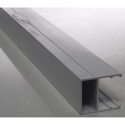 Profil bordure pour plaque ep 16 mm aluminium l 3 m leroy merlin - Polycarbonate 16mm prix ...