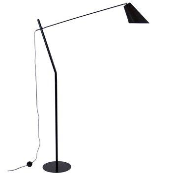 Lampadaire Artemis, 171 cm, noir, 60 W