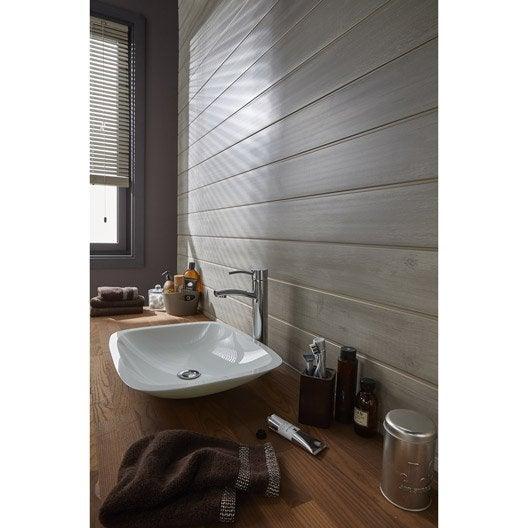 lambris pvc bois rabot savane artens x cm x. Black Bedroom Furniture Sets. Home Design Ideas