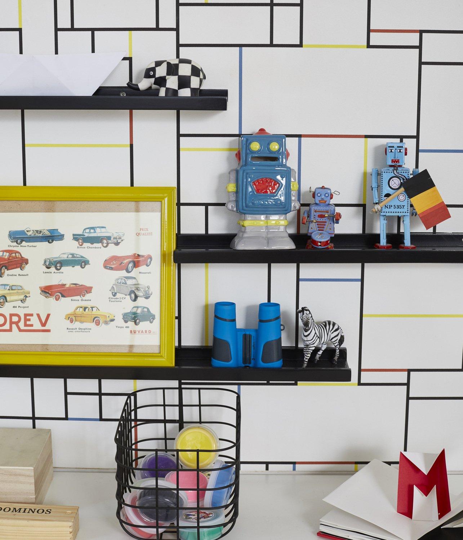 Des étagères murales pour poser les accessoires déco de votre enfant ...