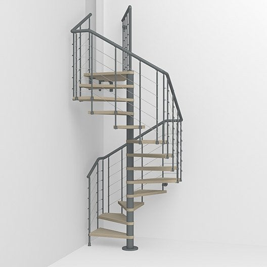 Escalier colima on carr cubeline leroy merlin for Type d escalier interieur